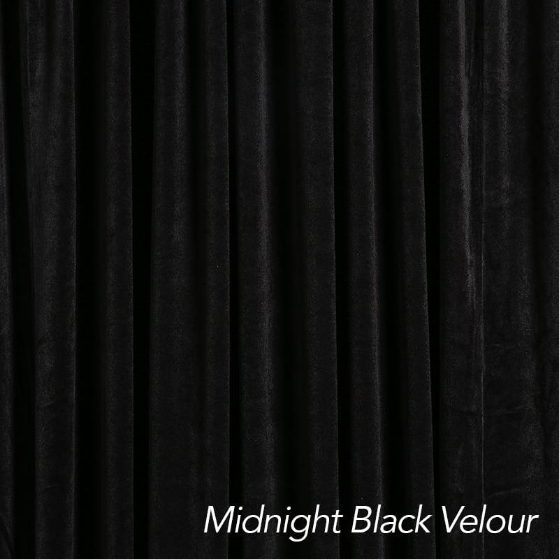 black drape color swatch